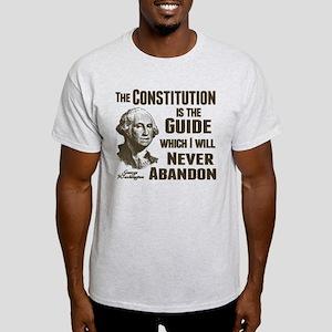 Washington Quote - Constitution Light T-Shirt