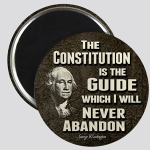 "Washington Quote - Constitution 2.25"" Magnet (10 p"