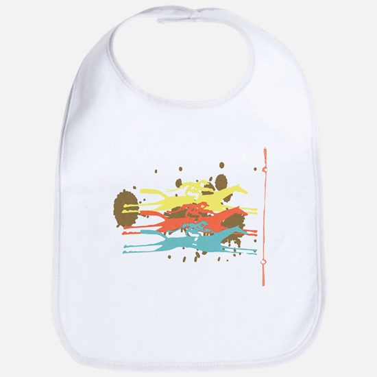 Horse racing Party Bib