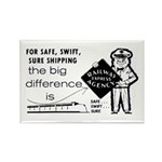 Railway Express 1959 Rectangle Magnet (10 pack)