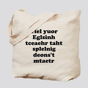 English Teachers Spelling Tote Bag