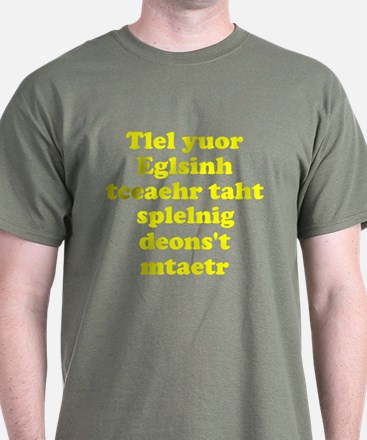 English Teachers Spelling T-Shirt