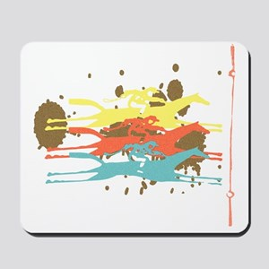Horse racing Party Mousepad