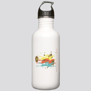 Horse racing Party Stainless Water Bottle 1.0L