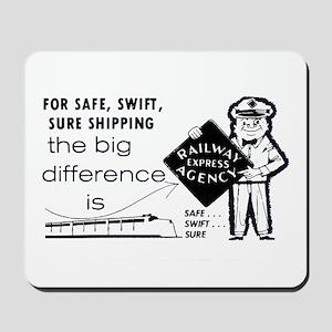 Railway Express 1959 Mousepad