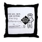 Railway Express 1959 Throw Pillow