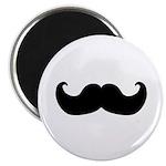 Black Moustache Magnet