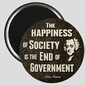 "Adams Quote - End of Government 2.25"" Magnet (10 p"