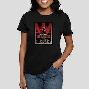 Revolution Free Panem Women's Dark T-Shirt