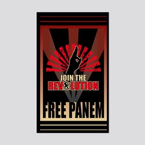 Revolution Free Panem Gifts Sticker (Rectangle)