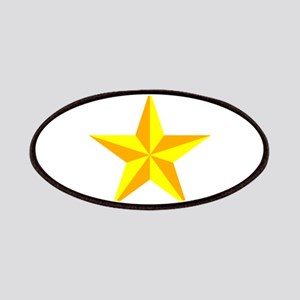 3d Beveled Star Patches