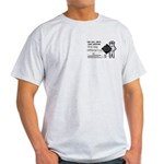 Railway Express 1959 Ash Grey T-Shirt