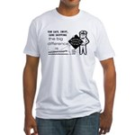 Railway Express 1959 Fitted T-Shirt