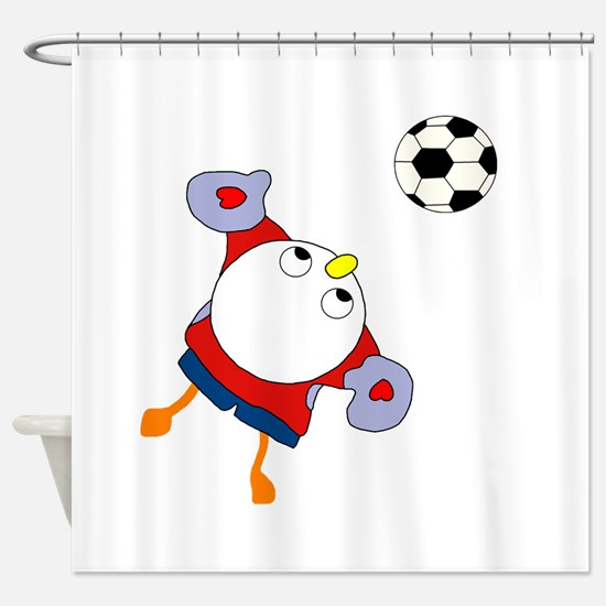 Goalie Shower Curtain