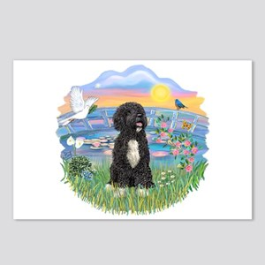 SunriseLilies - PWD-5bw Postcards (Package of 8)