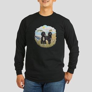 Row Boat-2 PWDs Long Sleeve Dark T-Shirt