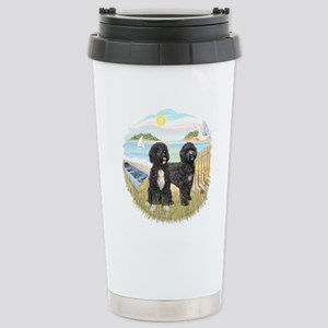 Row Boat-2 PWDs Stainless Steel Travel Mug