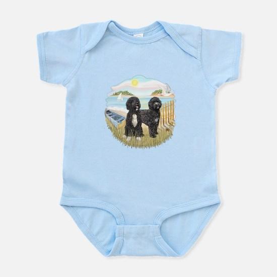 Row Boat-2 PWDs Infant Bodysuit