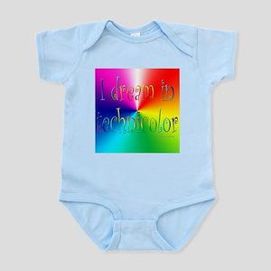Dream in Technicolor Infant Creeper