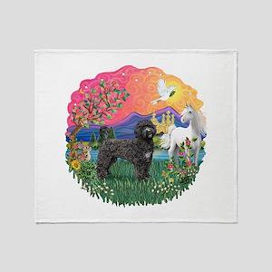 FantasyLand-PWD(Blk) Throw Blanket