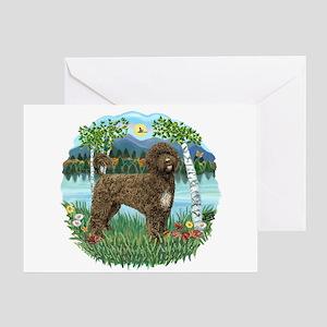 Birches - PWD(brn) Greeting Card