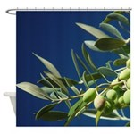 Gourmet Olives Shower Curtain