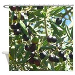 California Olives Shower Curtain