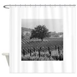 The Tree in Black and White- Shower Curtain