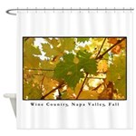 Wine Country , Napa Valley, Fall Shower Curtain