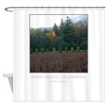 Blazing Tree - Wine Country Gifts Shower Curtain