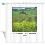 Napa Valley, Wine Country Gifts Shower Curtain