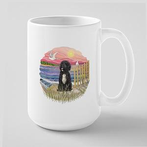 PinkSunset - PWD-5bw Large Mug