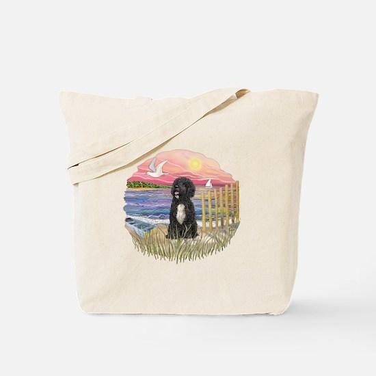 PinkSunset - PWD-5bw Tote Bag