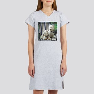 Terrier Sleep Shirts Women's Nightshirt