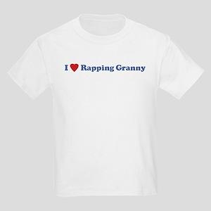 I Love Rapping Granny III Kids T-Shirt