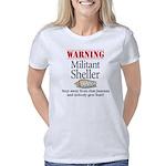 Militant sheller–b10x10 Women's Classic T-Shirt
