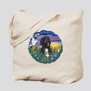 Garden-Sunset-PWD5bw Tote Bag