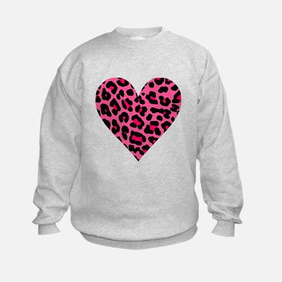 HOT PINK LEOPARD Sweatshirt