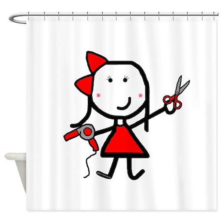 Hairstylist - Stephanie Shower Curtain
