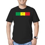 geo-gamma-epsilon-omega: Men's Fitted T-Shirt (dar