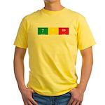 geo-gamma-epsilon-omega: Yellow T-Shirt