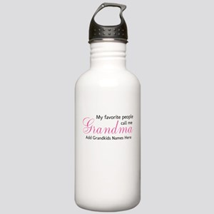 Grandma Personalized Stainless Water Bottle 1.0L