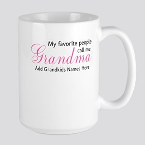 Grandma Personalized Large Mug