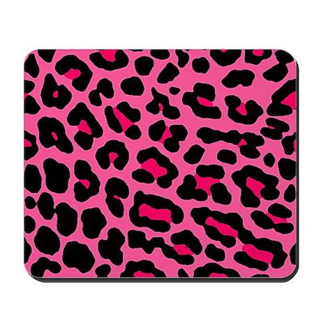 HOT PINK LEOPARD Mousepad