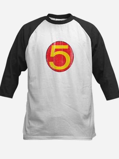 Vintage Mach 5 Kids Baseball Jersey