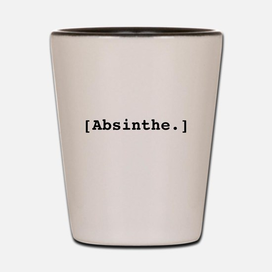Absinthe. Shot Glass