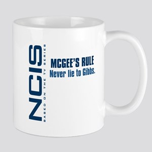 NCIS McGee's Rule Mug