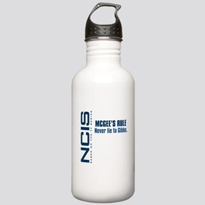 NCIS McGee's Rule Stainless Water Bottle 1.0L