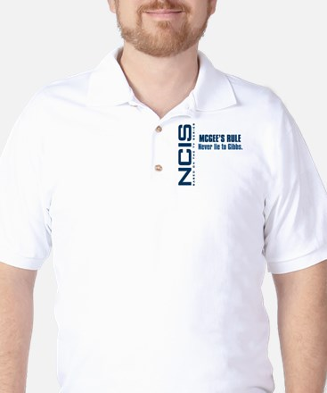 NCIS McGee's Rule Golf Shirt