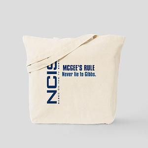NCIS McGee's Rule Tote Bag